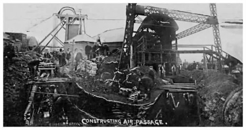 Constructing the air passage