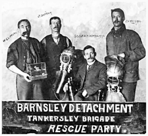 The Tankersley Brigade Rescuers